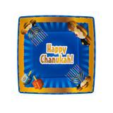 "Chanukah Collection 7.5"" Salad Plates Blue (20 Count)"