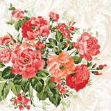 Floral - Untamed Rose Napkins 13'' x 13'' - 20pk