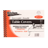 Clear Tablecloths 60x72  (20 Count)