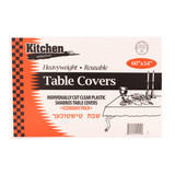 Clear Tablecloths 60x54 (28 Count)