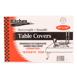 Clear Tablecloths 60x140 (10 Count)