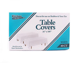 White Table Cover Shul 36x108 (1 Count)