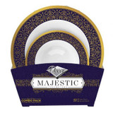 """Majestic Combo Bowls 12"""" / 5"""" - 32pk (available in 2 colors)"""