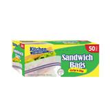 Zip & Lock Sandwich (50 Count)