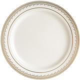 """Prestige Plates 10.25"""" Cream-Gold - 10pk"""