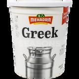 Mehadrin Plain Greek Nonfat Yogurt 2LB
