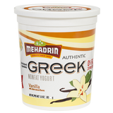 Mehadrin Vanilla Greek Yogurt 2LB