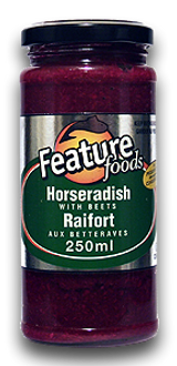 Feature Horseradish With Beets, 250ml