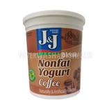 J&J Nonfat Coffee Yogurt 2lb