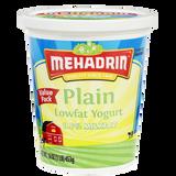 Mehadrin Plain Lowfat Yogurt 2LB