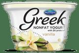 Norman's Nonfat Vanilla Greek Yogurt, 6 Oz