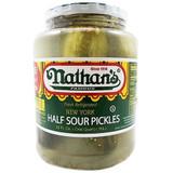 Nathan's Half Sour Pickles, 1l