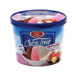 Klein's Classic Treat Neapolitan Ice Cream, 1.65l