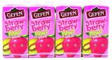 Gefen Strawberry Kiwi Juice Boxes 4pk, 6 Oz