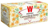 Wissotzky Chamomile & Honey Tea 20pk, 30g