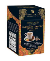 Wissotzky Ginger & Turmeric Spiced Chai Tea 16pk, 2.2g