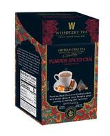 Wissotzky Pumpkin Spiced Chai Tea 16pk, 2.2g