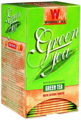 Wissotzky Green Tea With Citrus Fruits 20pk, 30g
