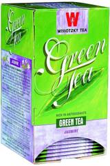 Wissotzky Green Tea With Jasmine 20pk, 30g