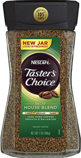 Nescafe Taster's Choice Decaf House Blend Coffee, 198g
