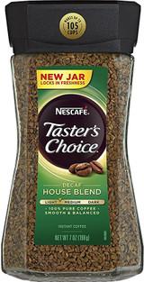 Nescafe Taster's Choice Decaf House Blend Coffee, 7 Oz