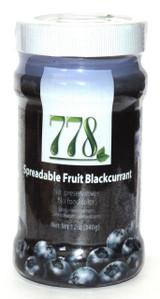 778 Blackcurrent Jam, 12 Oz