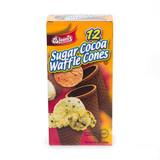 Blooms Sugar Cocoa Waffle Cones, 4.6 Oz