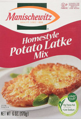 Manischewitz Homestyle Potato Latke Mix, 6 Oz
