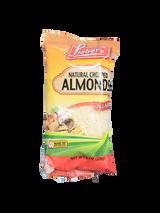 Lieber's Natural Chopped Almonds, 226g