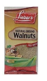 Lieber's Natural Ground Walnuts, 170g