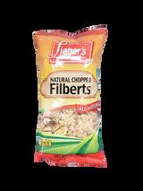 Lieber's Natural Chopped Filberts, 170g