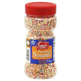 Lieber's Assorted Nonpariels Sprinkles, 283g