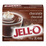Jell-O Chocolate Instant Pudding Mix, 113g