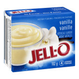 Jell-O Vanilla Instant Pudding Mix, 102g