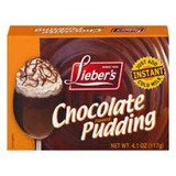 Lieber's Chocolate Pudding Mix, 90g
