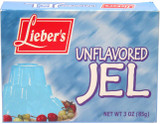 Lieber's Unflavored Jel, 85g