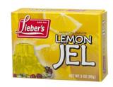 Lieber's Lemon Jel, 85g