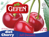 Gefen Diet Cherry Jell Desert, 85g