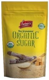 Lieber's Fine Granulated Organic Sugar, 3lb