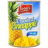 Lieber's Crushed Pineapple, 20 Oz