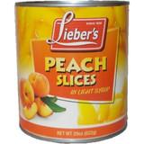 Lieber's Peach Slices, 29 Oz