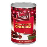 Lieber's Dark Sweet Pitted Cherries, 425g