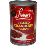 Lieber's Jellied Cranberry Sauce, 454g