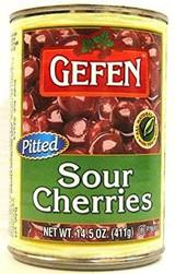 Gefen Pitted Sour Cherries, 411g