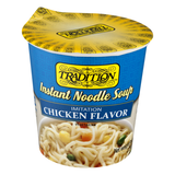 Tradition Instant Noodle Soup Cup Chicken Flavor, 2.3oz