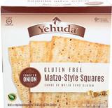 Yehuda Gluten Free Matzo-Style Squares Onion, 300g