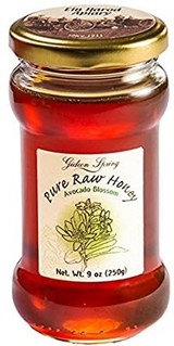 Fruit Of The Land Pure Raw Avocado Blossom Liquid Honey, 250g