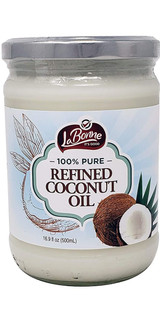 La Bonne 100% Pure Refined Coconut Oil, 500ml