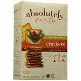 Absolutely Gluten Free Toasted Onion Crackers, 125g