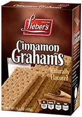Lieber's Cinnamon Graham Crackers, 408g
